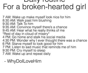 boys, heartbreak, and quotes image