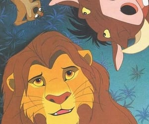simba, disney, and movie image