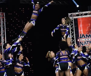 black, sport, and cheer image
