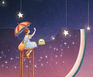 estrellas, animado, and gif image