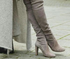 afternoon, grey, and high boots image