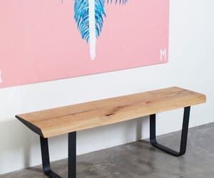 desk, etsy, and furniture image