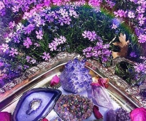 aesthetic, crystal, and nature image
