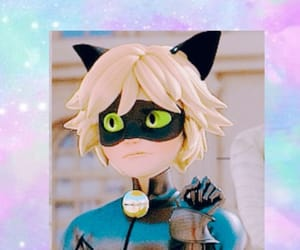 Chat Noir, wallpaper, and ladybug image