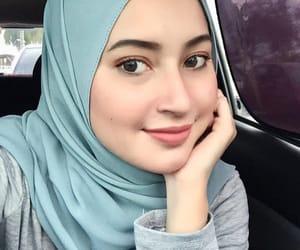 beauty, jilbab, and hijab image
