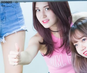 cute girl, kpop, and pink image