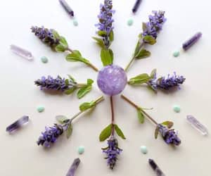 crystal, amethyst, and lavender image