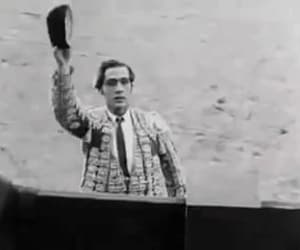 gif, rudolph valentino, and blood and sand image