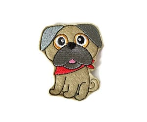 etsy, pug toy, and gifts for pug owners image