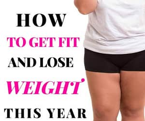 fitness, weight loss, and health and fitness image