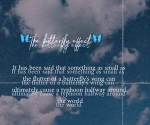 effect, butterfly, and world image