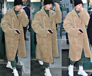 candids, celebrities, and coat image