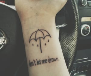 bmth, drown, and nails image