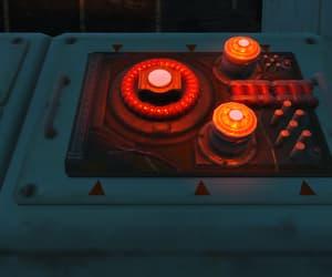 fallout, lights, and nuka world image