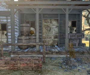 abandoned, crates, and fallout image