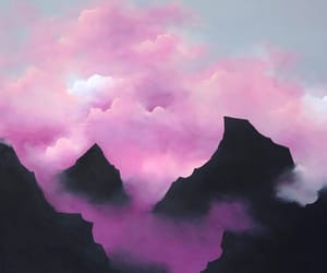 nature, painting, and psy image