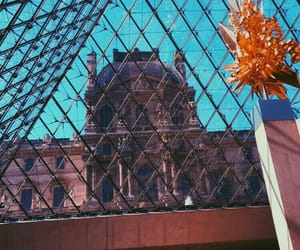 architecture, french, and louvre image