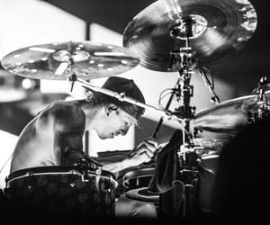 drums, top, and skeleton clique image