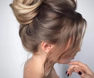 beautiful, hair style, and blonde image