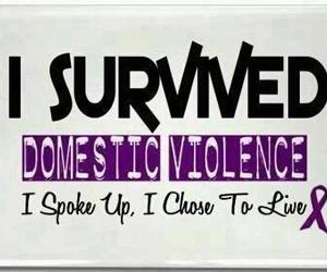 child abuse, domestic violence, and survival image