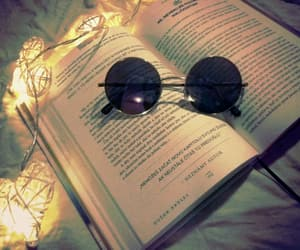 book, sunglasses, and weheartit image