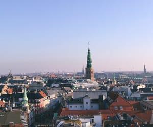 city, copenhagen, and europe image