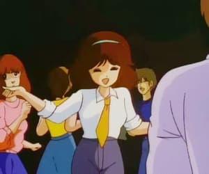 90s, retro anime, and gif image