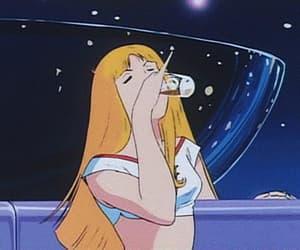 90s, anime, and gif image