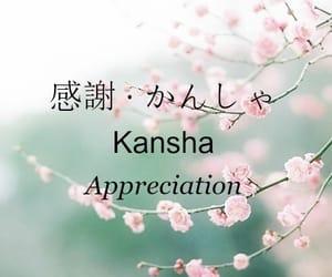 appreciation, blossom, and hiragana image