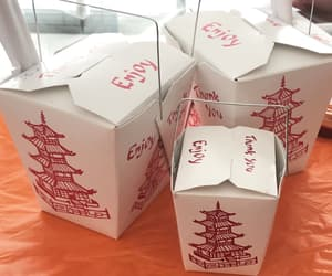 boxes, enjoy, and chinese food image