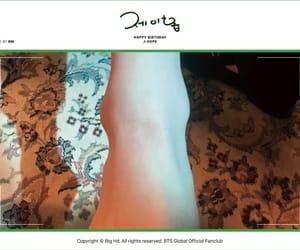 ankle, birthday, and bangtan image