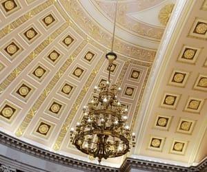 elegant, golden, and lights image
