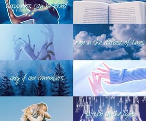 aesthetic, baby blue, and colors image