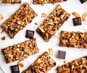 bars, chocolate, and coconut image