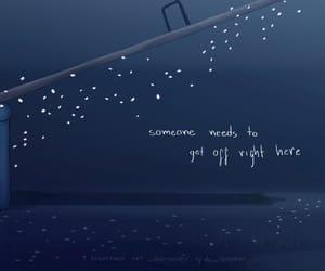 sadness, seesaw, and yoonkook image