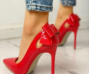 red shoes and shoes image