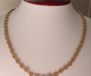 etsy, vintage necklace, and necklace chain image