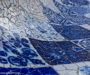 blue, Ceramic, and tiles image