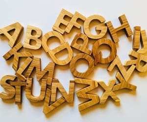 etsy, montessori toys, and wooden alphabet image