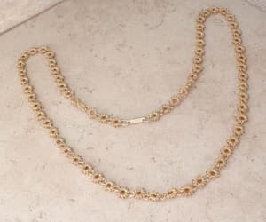 etsy, 24 inch necklace, and cannetille look image