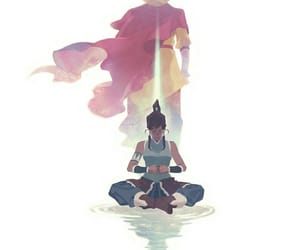 aang, korra, and avatat image