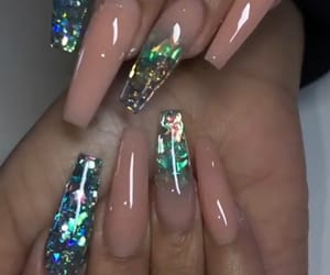 acrylic, fashion, and nails image