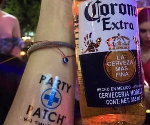 after party, corona, and party image