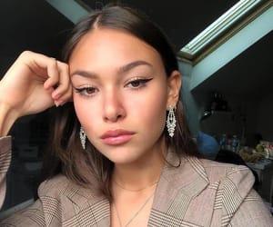girl, makeup, and model image