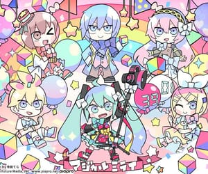 hatsune miku, vocaloid, and 初音ミク image