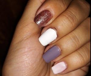 nail design, art nails, and nude nails image