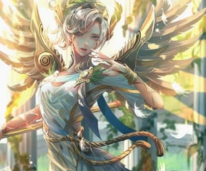 angel, video game, and mercy image