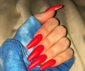 aesthetic, nails, and khloe kardashian image