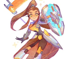 adorable, overwatch, and video game image