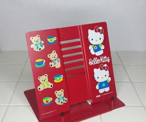 aesthetic, book, and hello kitty image